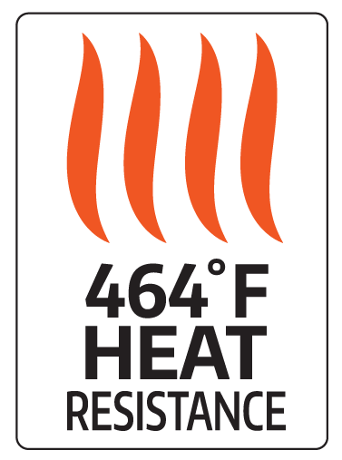 464 Degree Heat Resistance
