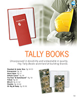 Tally Book Brochure