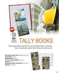 Tally Book Brochure