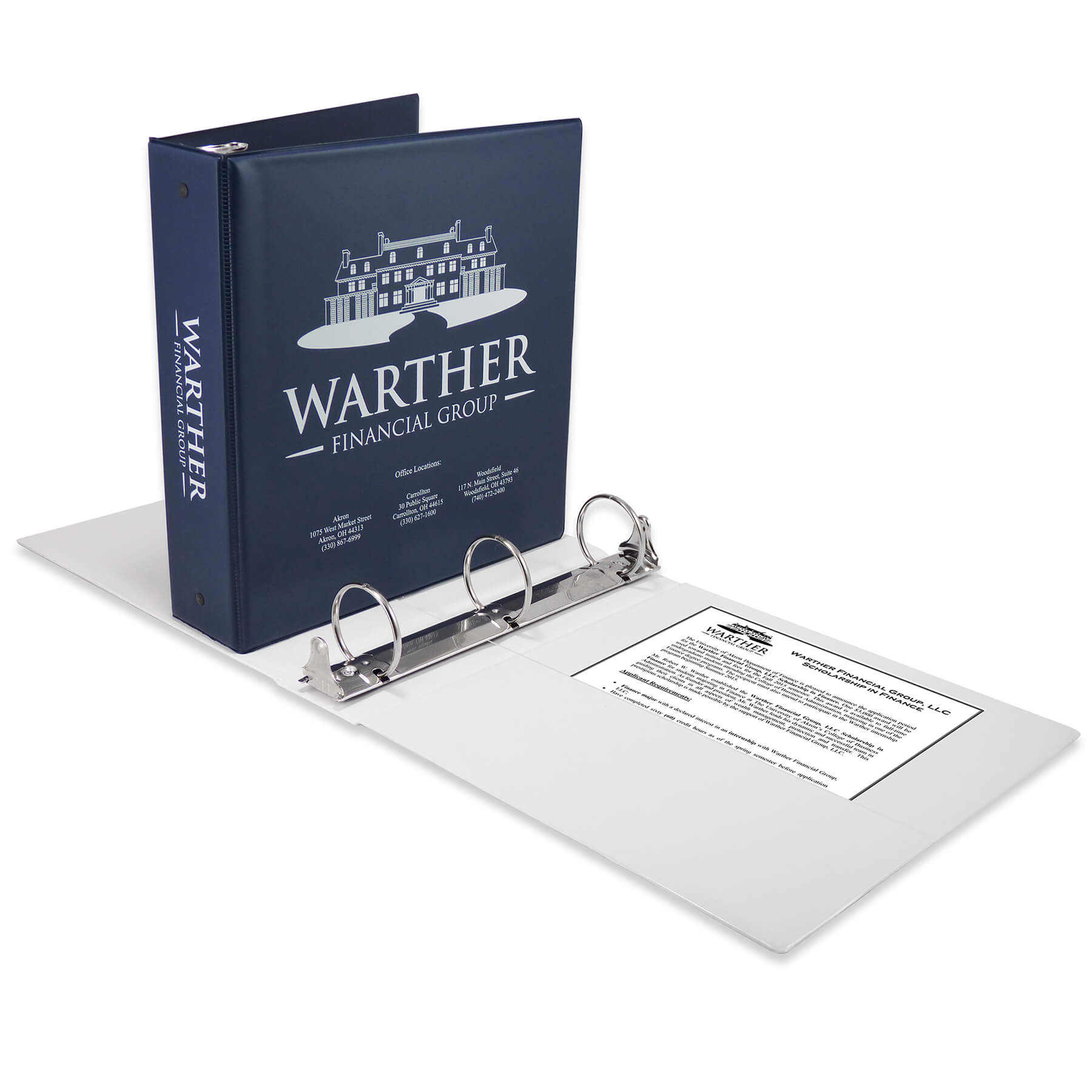 Master Products Looseleaf Index Poly Binder File Pages 8.5 x 11 inch One Set