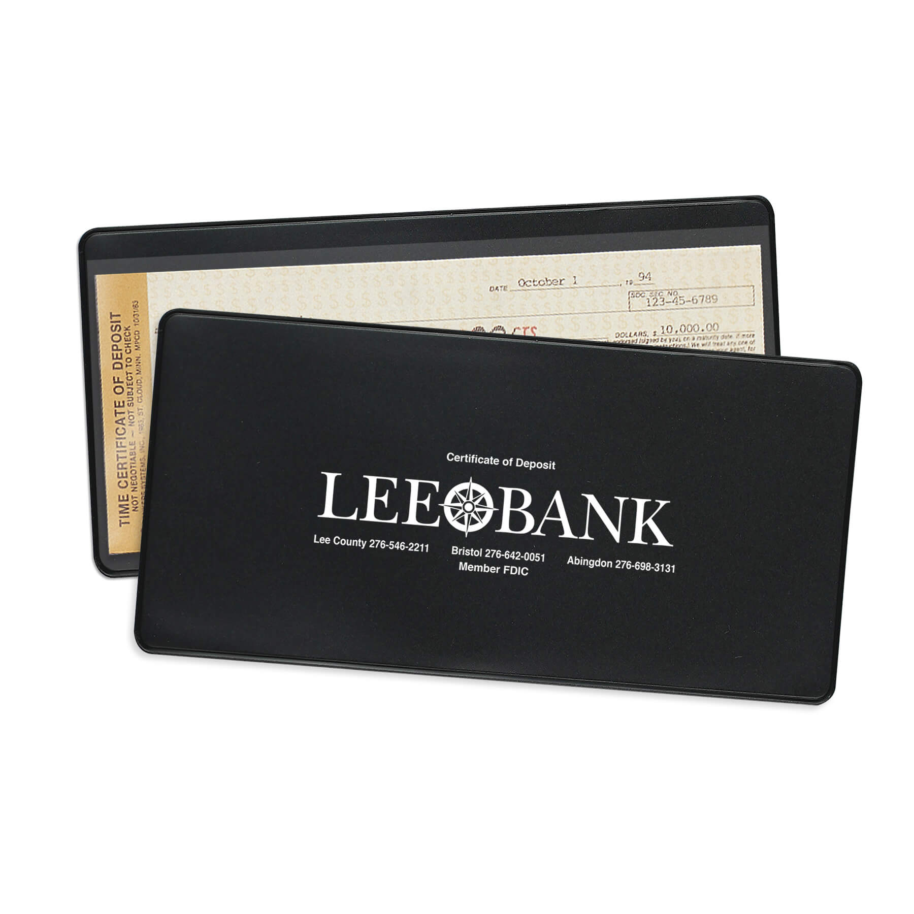 Certificate Of Deposit Holders Fey Promotional Products Group