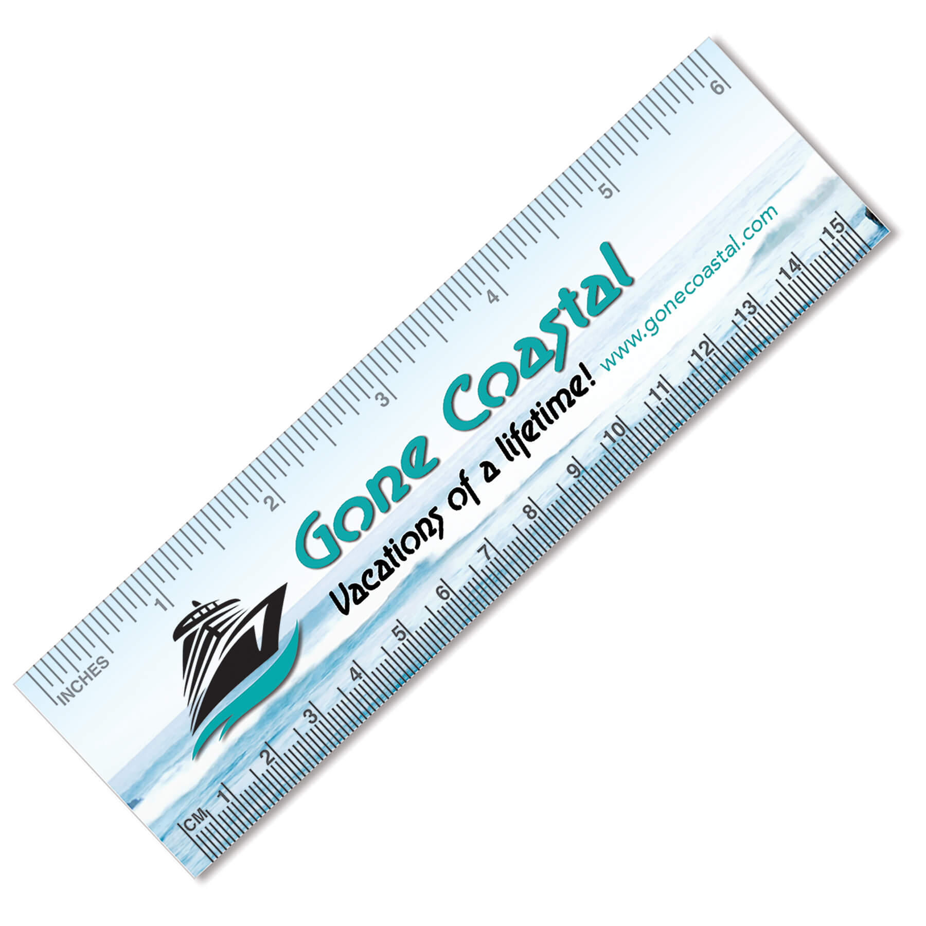 Item: 7450 - 4CP Ruler Bookmark