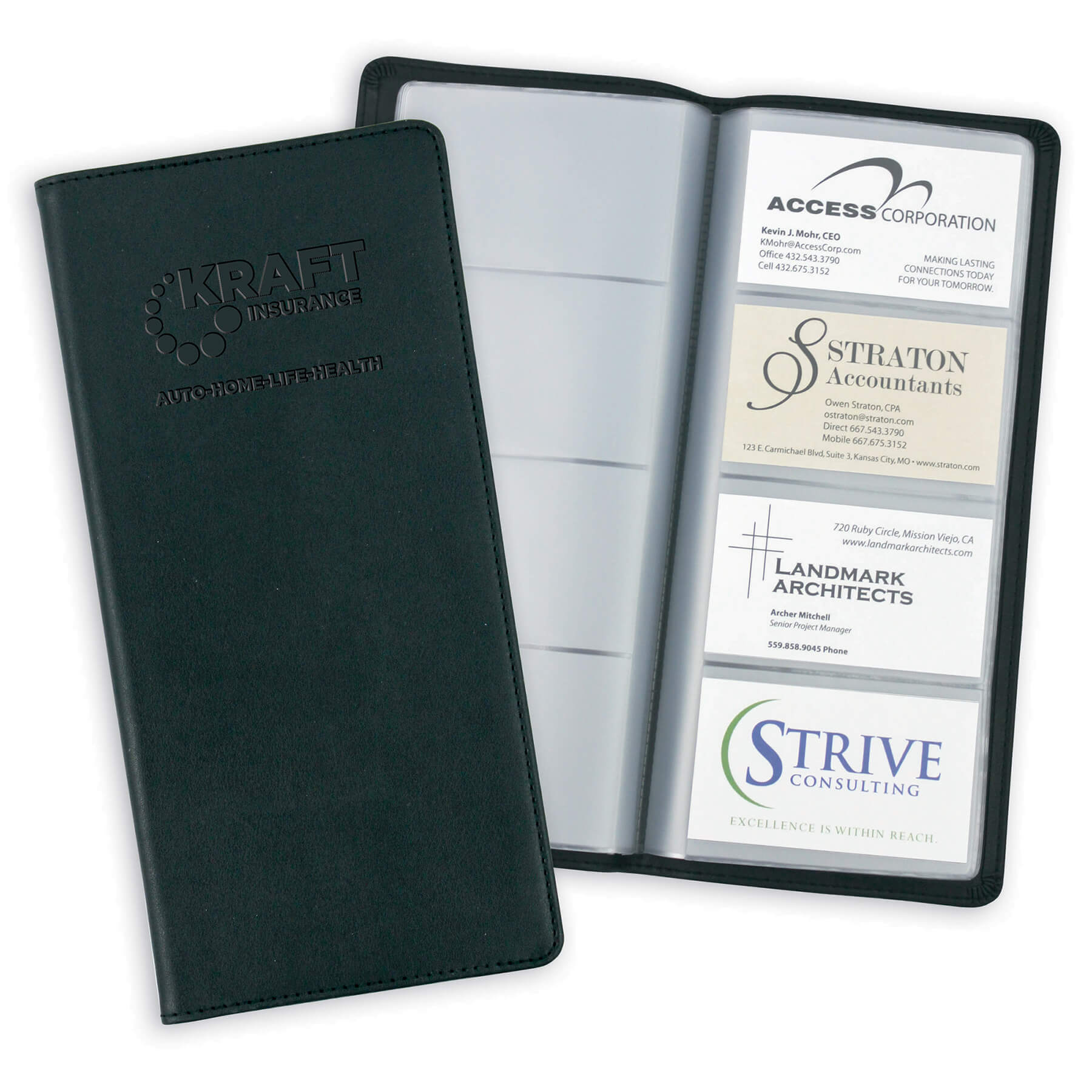 Business card holders fey promotional products group item 8074 stratton card caddy colourmoves