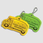 School Bus Zipper Pulls