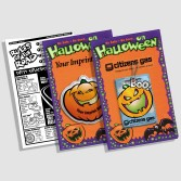 Halloween Safety cards