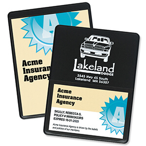 1602 - Proof of Insurance/Business Card Holder