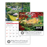 2013 Gardens Wall Calendar - Discounted
