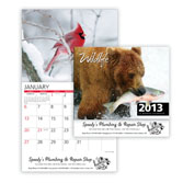 2013 Wildlife Wall Calendar - Discounted