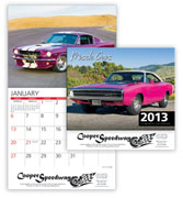 2013 Muscle Cars Wall Calendar - Discounted