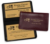 Item: 4110 Deluxe Business Card Cases