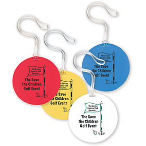 Item: 7417 - Round Bag Tag