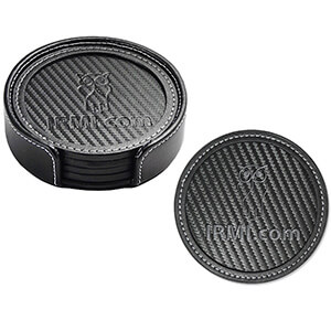 Item: 8051 - Carbon Fiber Coaster Set