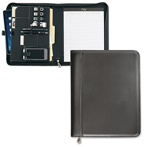 Item: 8084 - Carbon Fiber Zippered TechFolio