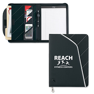 Item: 8090 - InLine Zippered TechFolio