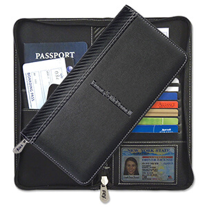 Item: 8093 - Carbon Fiber Travel Wallet