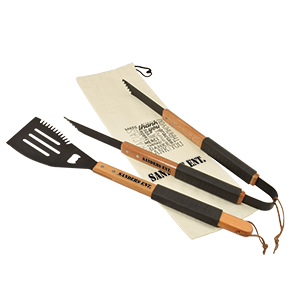 GS10 Wood BBQ Set