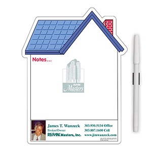 "MG98016 - ""House"" Memo Board Magnet"