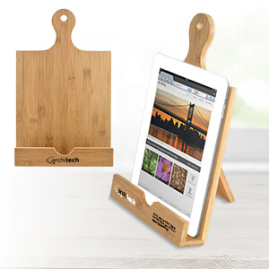 Mi4200 - Bamboo Cookbook & Tablet Stand